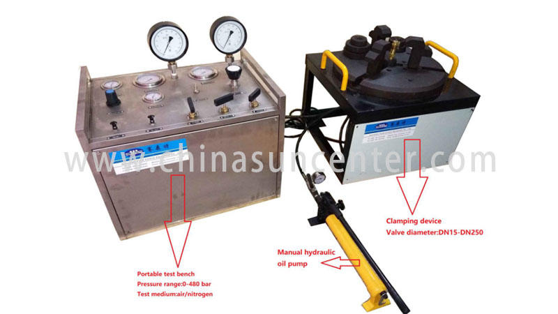 Suncenter hydrostatic pressure test at discount for industry-1