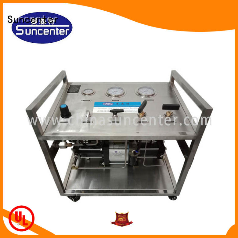 Suncenter pump hydrostatic pressure test type for safety valve calibration