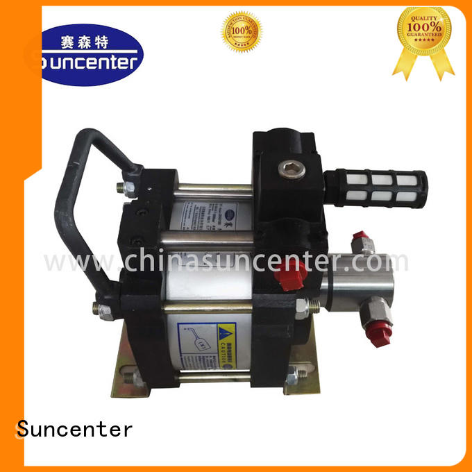 Suncenter easy to use pneumatic hydraulic pump manufacturer for metallurgy