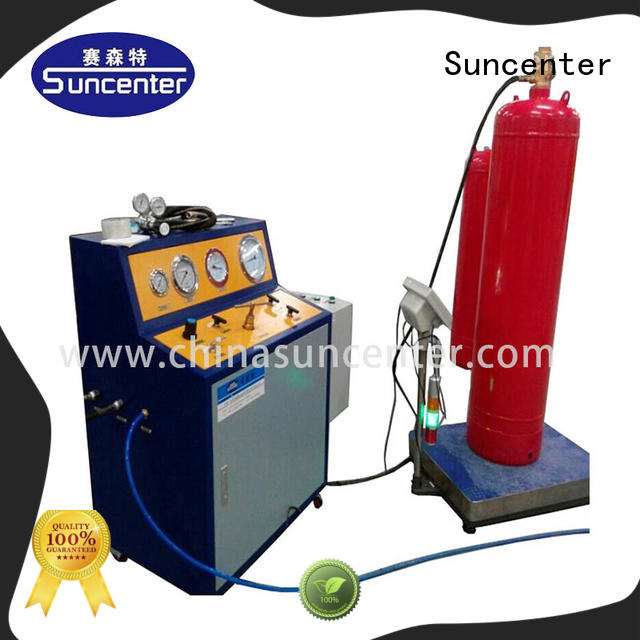 Suncenter cylinder fire extinguisher refill station from manufacturer for fire extinguisher