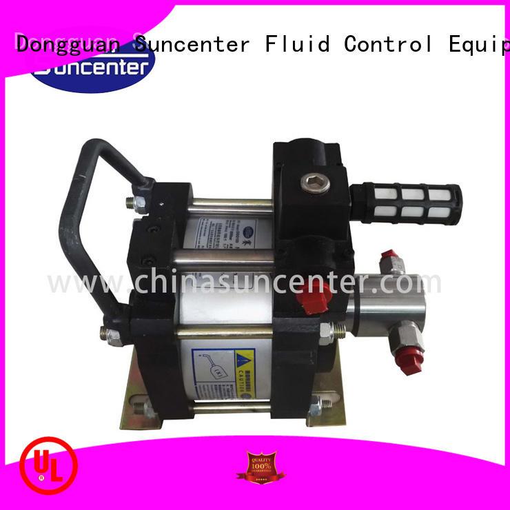 Suncenter driven air driven hydraulic pump marketing for mining