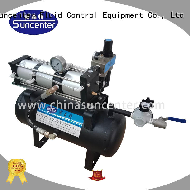 Suncenter energy saving air pressure booster overseas market for natural gas boosts pressure