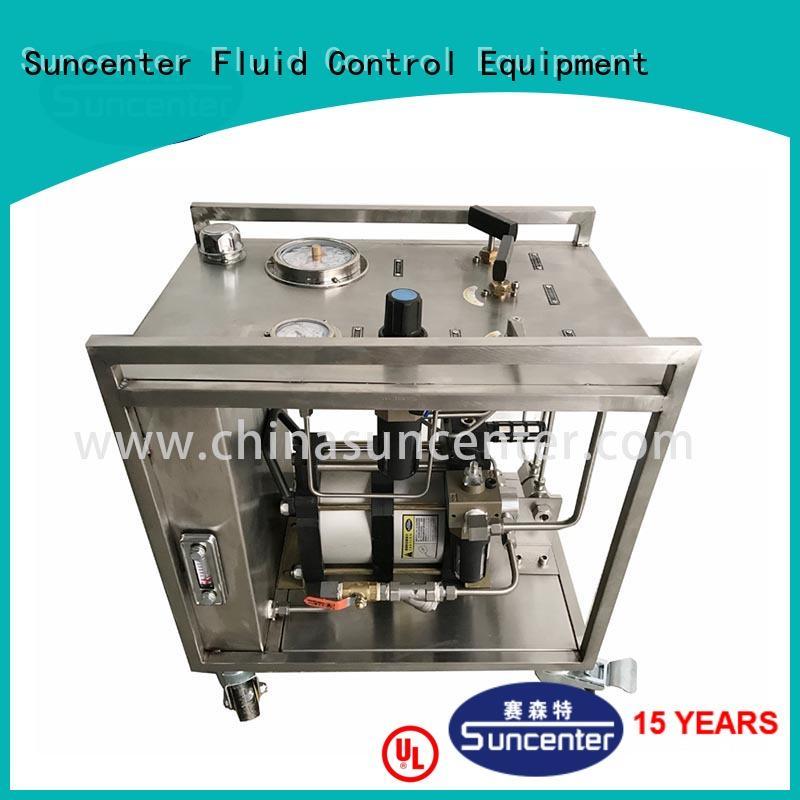 Hot pneumatic driven hydraulic pump oil Suncenter Brand