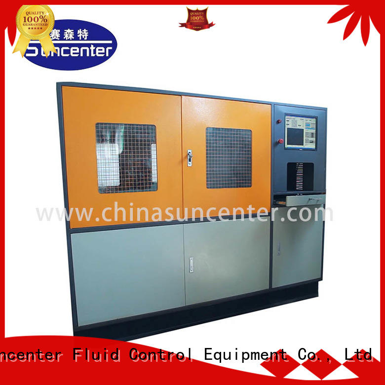 Suncenter bar hydraulic compression testing machine package for pressure test