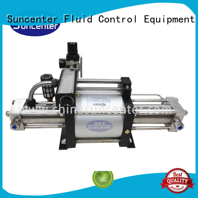 Suncenter easy to use gas booster model for safety valve calibration