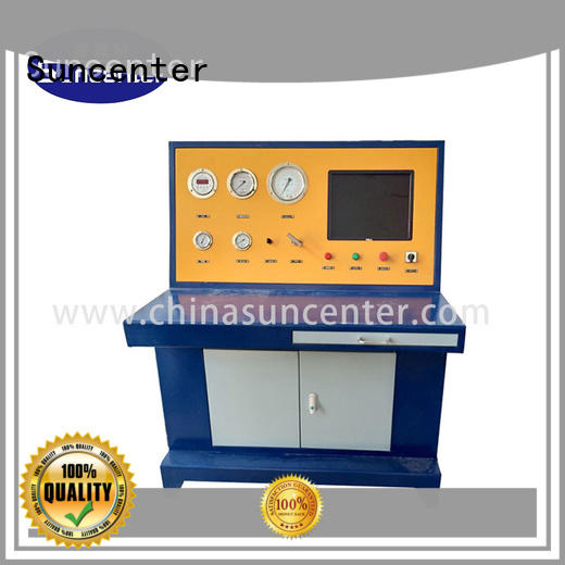 Suncenter pressure cylinder pressure tester supplier for petrochemical
