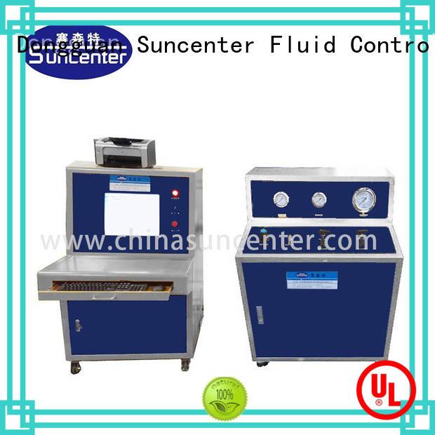 Suncenter control pressure test pump for flat pressure strength test