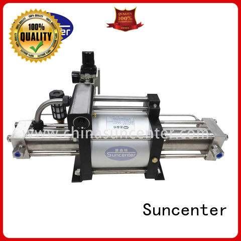 Suncenter dgd gas booster type for safety valve calibration
