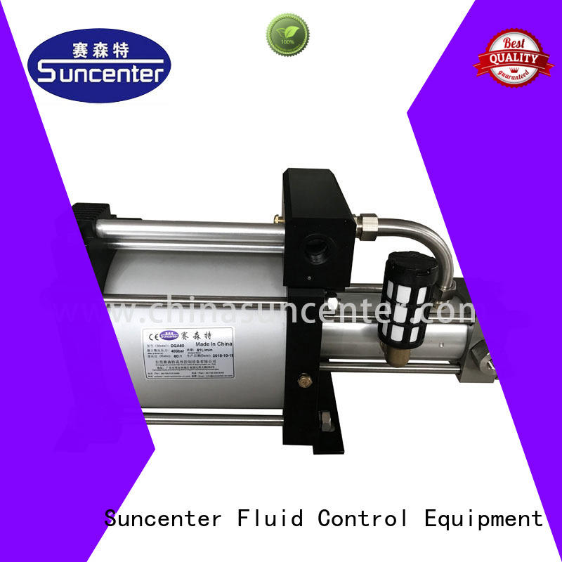 Suncenter high quality gas booster system max for pressurization
