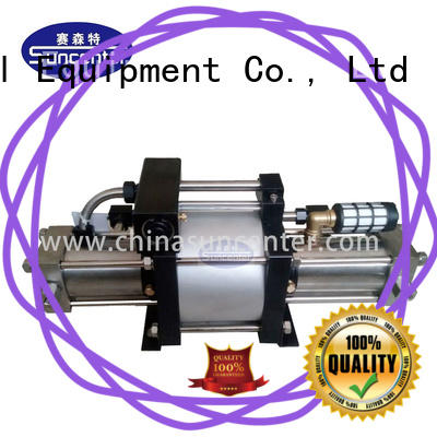 Suncenter stable nitrogen pumps in china for safety valve calibration