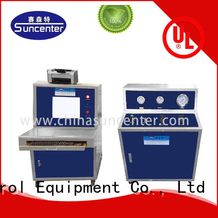 Suncenter automatic hydrotest pressure package for flat pressure strength test