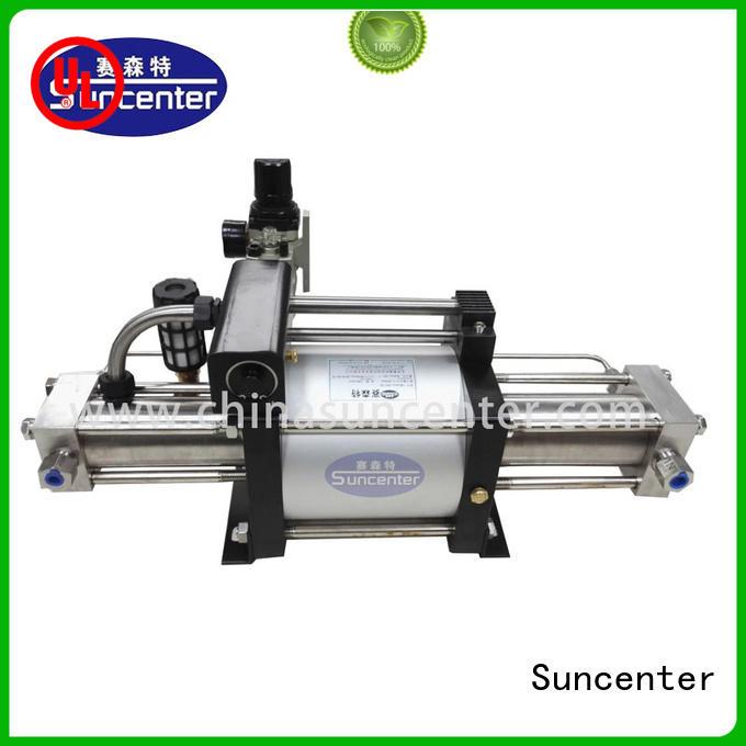 Suncenter safe gas booster system bulk production for safety valve calibration
