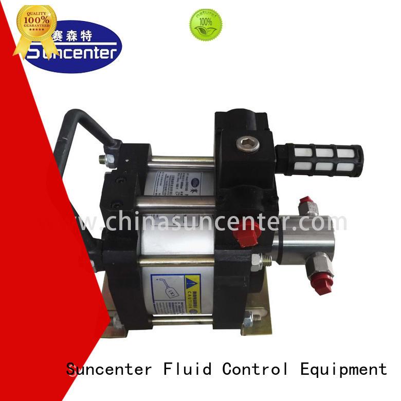 Suncenter driven pneumatic hydraulic pump overseas market for petrochemical
