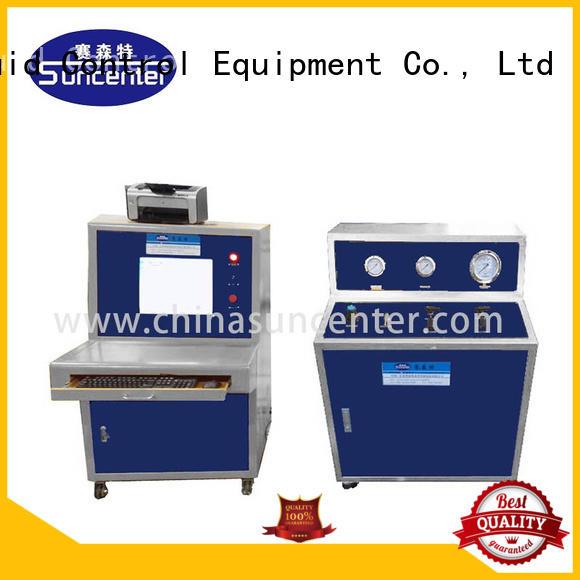 control hydraulic compression testing machine impulse for flat pressure strength test Suncenter