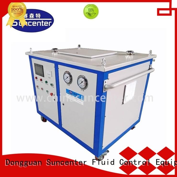 Suncenter tube hydraulic press machine price factory price for air conditioning pipe