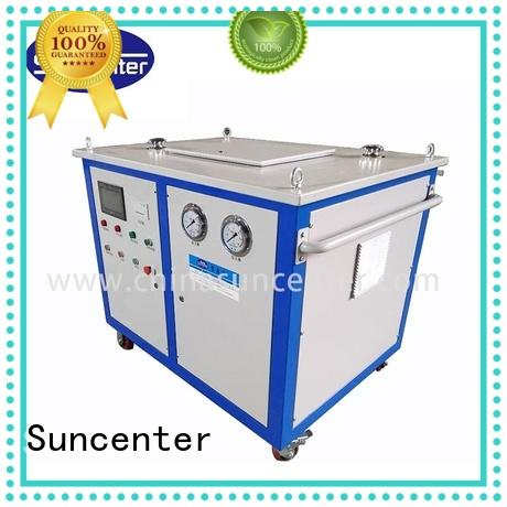 Suncenter automatic hydraulic tube expander marketing for duct