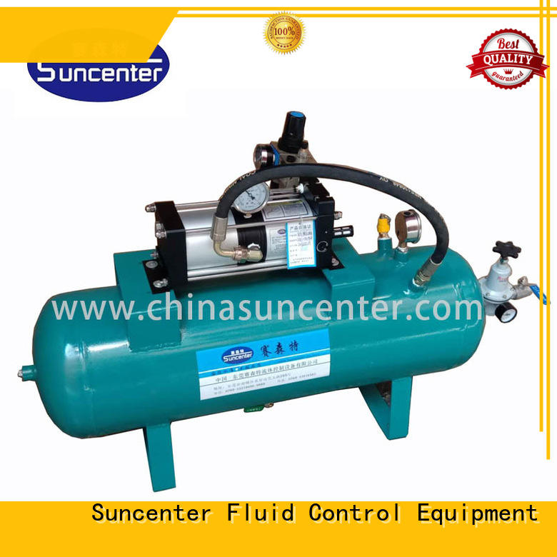 Suncenter widely-used air booster pump type for safety valve calibration
