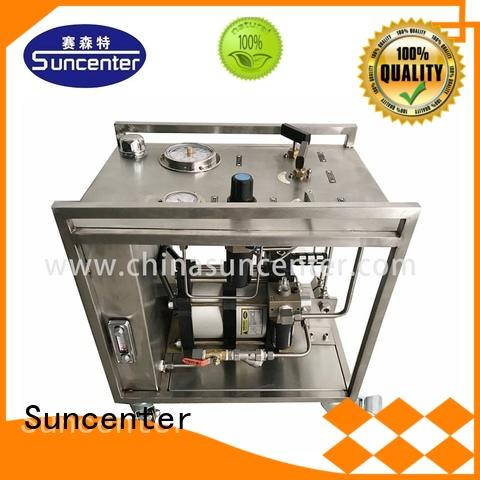 Suncenter field chemical injection pump export for medical