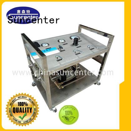 portable N2O pump equipment for pressurization