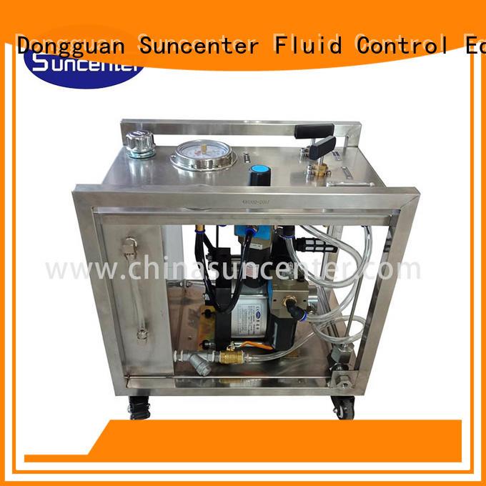 dls pressure Suncenter Brand electric hydraulic test pump factory