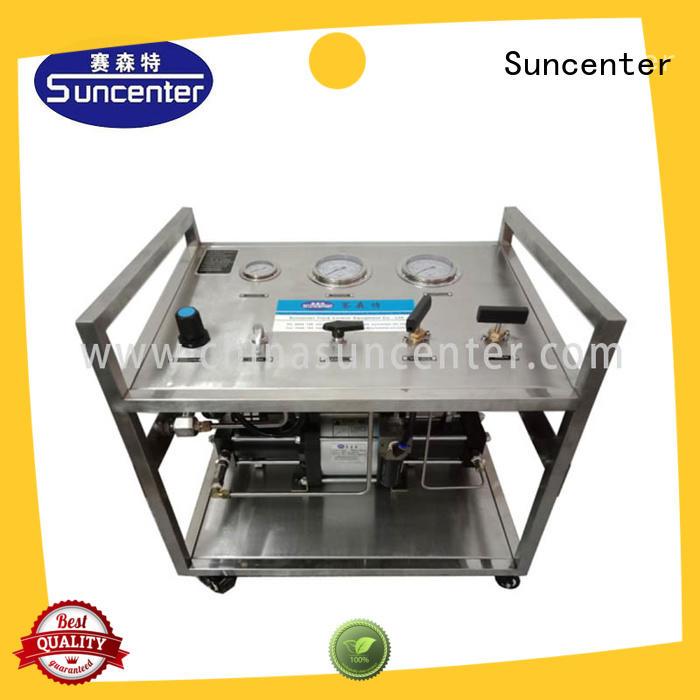 safe pneumatic test bench order now for pressurization Suncenter