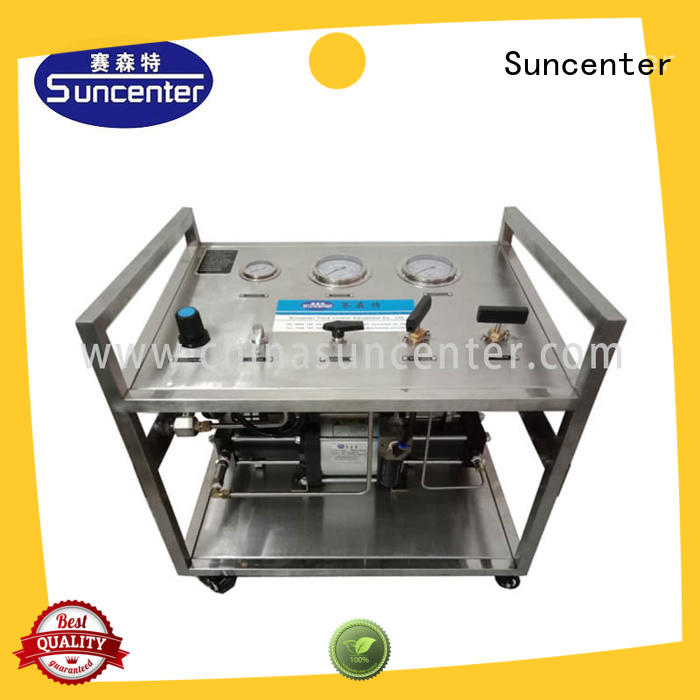 air pressure test bench system for pressurization Suncenter