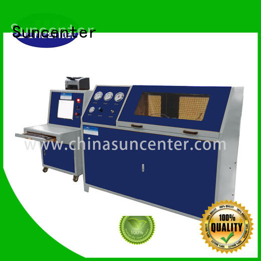 Suncenter energy saving hydraulic pressure tester test for pressure test