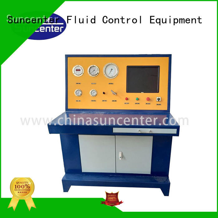 cylinder hydrostatic pressure test pump machine for mining Suncenter