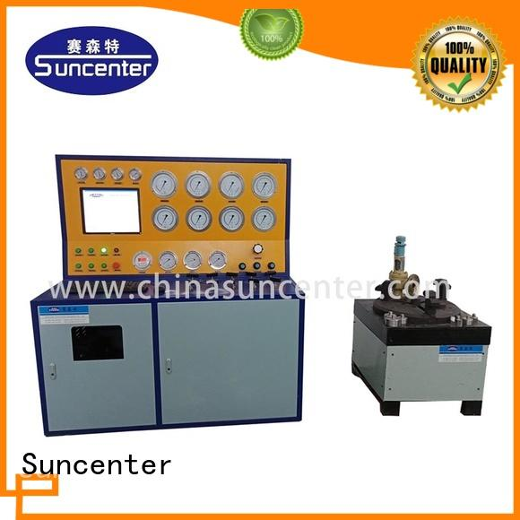 Suncenter bench hydro pressure tester marketing