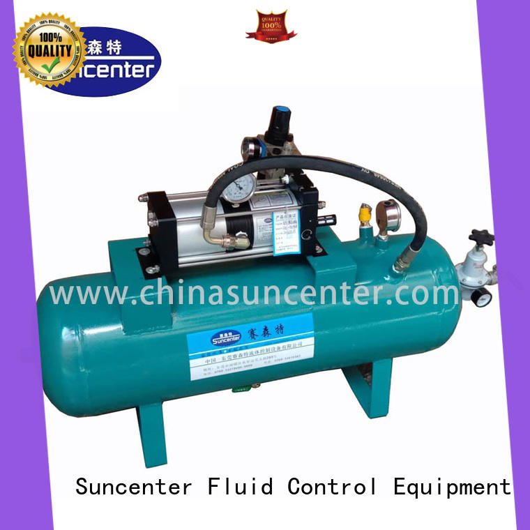 Suncenter widely-used air booster pump vendor for safety valve calibration