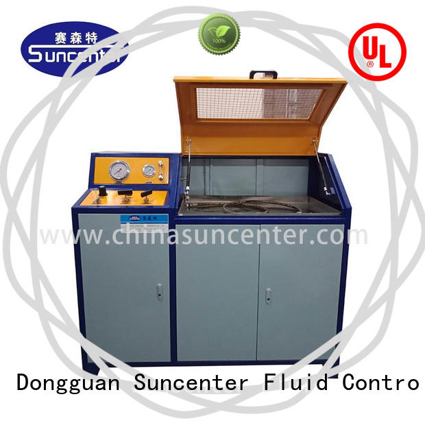 Suncenter automatic compression testing machine application for flat pressure strength test