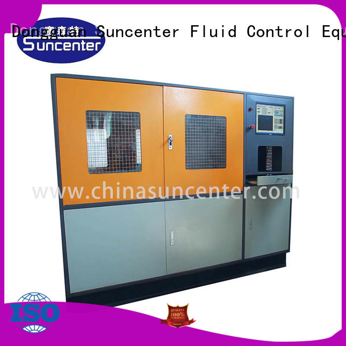 Suncenter bar compression testing machine solutions for pressure test