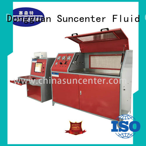 Suncenter energy saving compression testing machine for-sale for pressure test