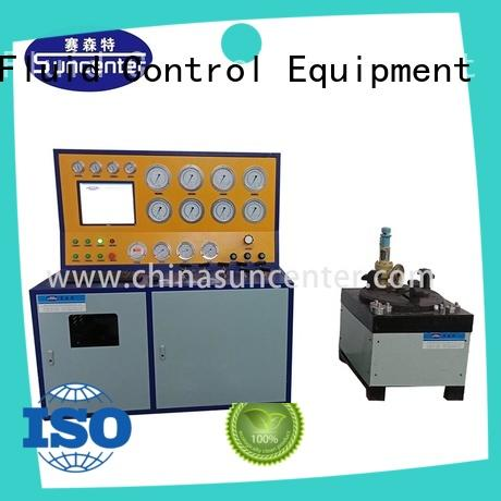 Suncenter safety gas pressure test free design for industry