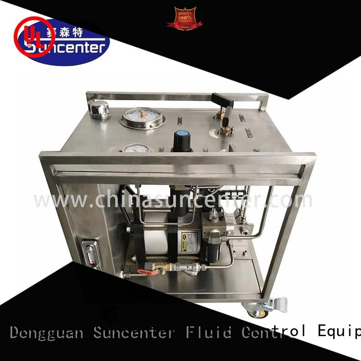 stable haskel pump injection speed for medical