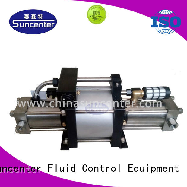 Suncenter stable gas booster system series for pressurization