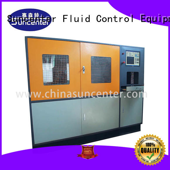 Suncenter machine water pressure tester application for flat pressure strength test