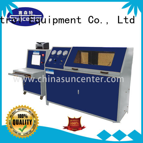 Suncenter long life compression testing machine for-sale for flat pressure strength test