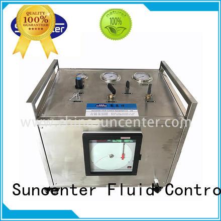 Suncenter high reputation nitrogen gas booster system for safety valve calibration