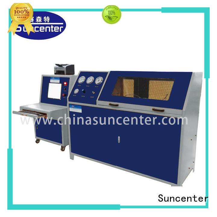 Suncenter professional compression testing machine sensing for flat pressure strength test