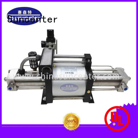 gas automatic booster pump type for pressurization Suncenter