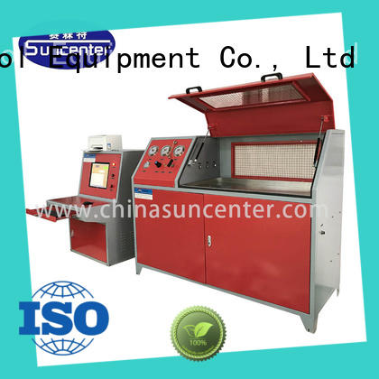 Suncenter competetive price compression testing machine in China for flat pressure strength test