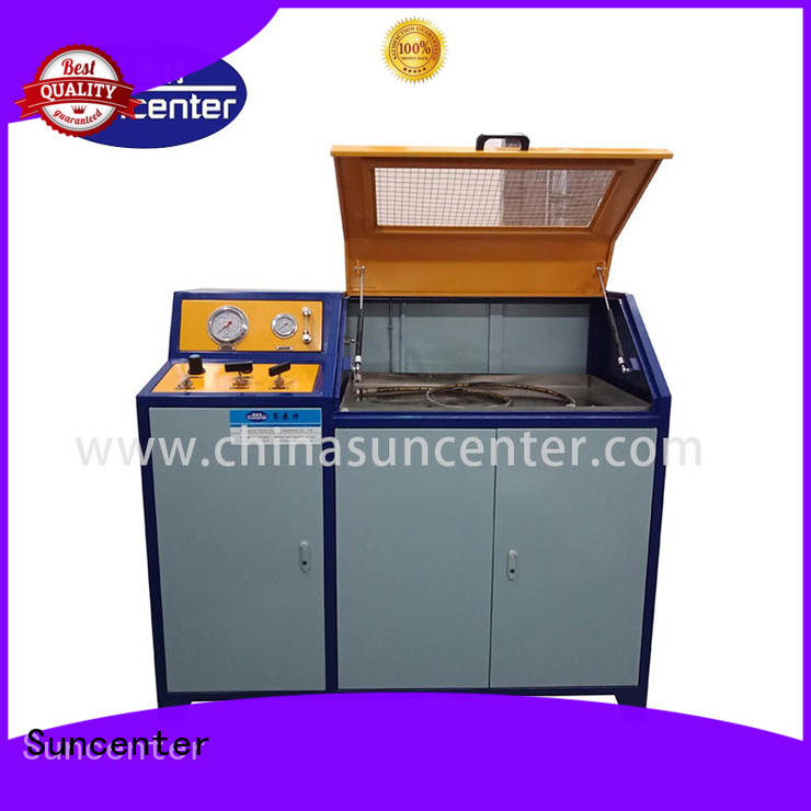 Suncenter easy to use pressure test for pressure test