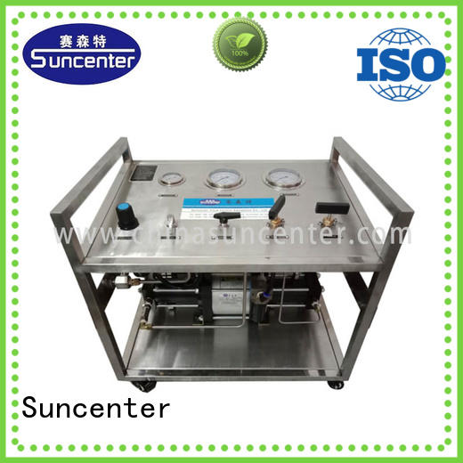 Suncenter safe pressure booster pump from manufacturer for natural gas boosts pressure