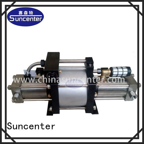 Suncenter series gas booster type for safety valve calibration