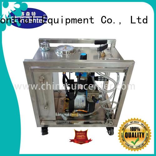 Suncenter hydrostatic hydro test pump manufacturer for machinery