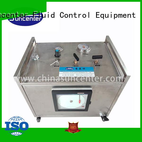 Suncenter pressure hydrostatic testing producer for mining
