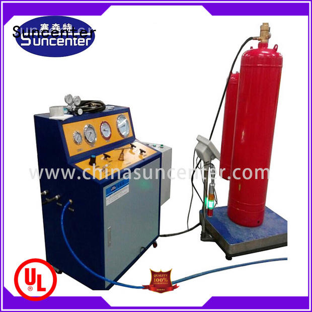 Suncenter dazzling automatic filling machine at discount for fire extinguisher