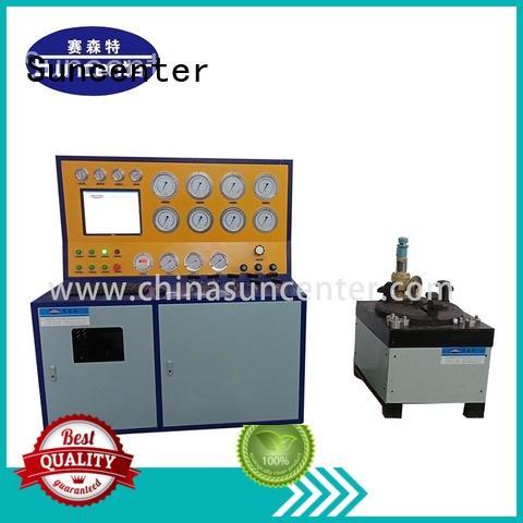 Suncenter model hydrostatic pressure test in china