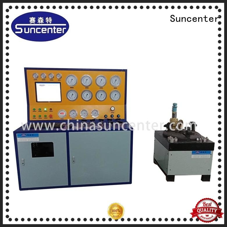 Suncenter bench gas pressure test for industry